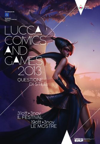 Lucca Comics and Games - Manifesto 2013