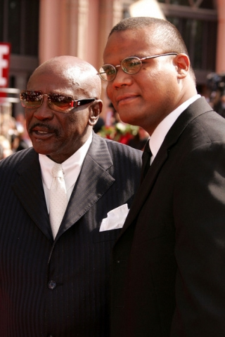 Louis Gossett Jr. e Satie Gossett