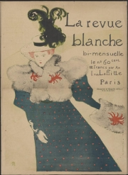 La Revue blanche 1895 Lithograph in five colours on wove paper - Budapest Galleria Nazionale