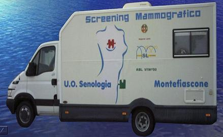 Unità Mobile Screening Mammografico