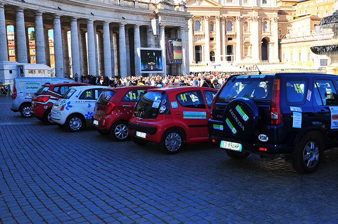 7 Ecorally In Piazza San Pietro